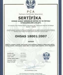OHSAS 18001 Belgesi