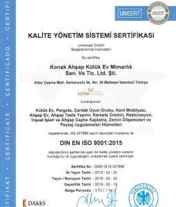 Kalite Yönetim Sistemi Sertifikası